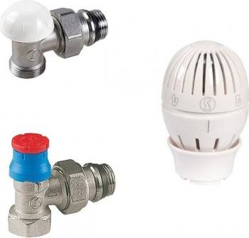 Set robinet calorifer termostat Giacomini R470F 1/2
