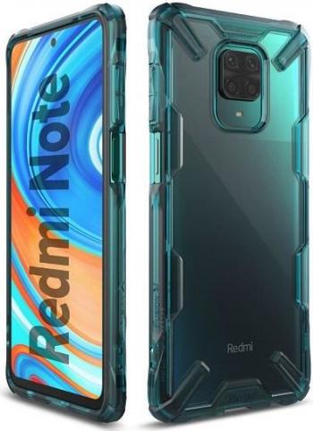 Husa Xiaomi Redmi Note 9S Redmi Note 9 Pro Redmi Note 9 Pro Max - Ringke Fusion-X Turquoise Green