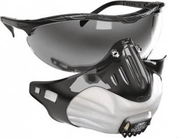 Masti JSP FFP3 protectie respiratorie set 3 masti + ochelari atasati de suport Masti chirurgicale si reutilizabile