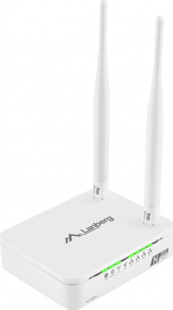 Router Lanberg DSL N300 300 Mbps 2T2R MIMO 2.4GHz IPTV Suport