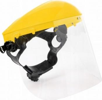Masca de protectie cu acoperire PVC pentru coase ferastraie Geko G81065Z Accesorii Sudura