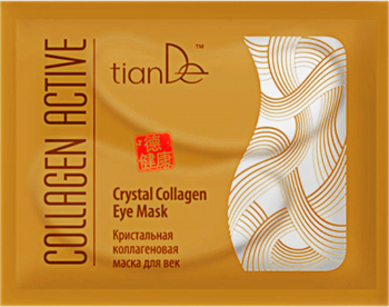 Masca pentru pleoape cu colagen cristalizat TianDe 1 buc Masti, exfoliant, tonice