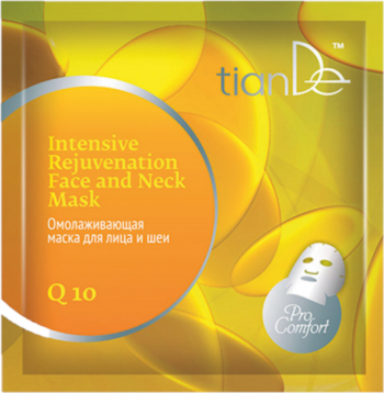 Masca modelatoare rejuvenanta cu coenzima Q10 TianDe 1 buc Masti, exfoliant, tonice