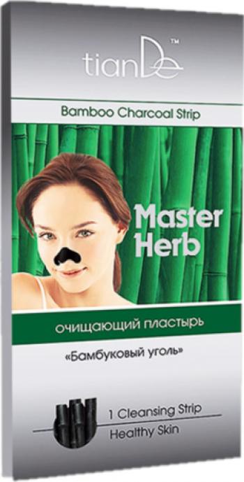 Plasture pentru curatare nasului Carbune de bambus TianDe 1 buc Masti, exfoliant, tonice