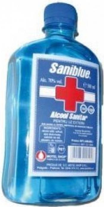 Alcool sanitar 500 ml Gel antibacterian