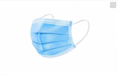 Cutie de 50 Masti Intellisec cu 3 pliuri si 3 straturi Albastru Masti chirurgicale si reutilizabile