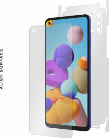 Folie Alien Surface Samsung Galaxy A21s protectie ecran spate laterale Folii Protectie