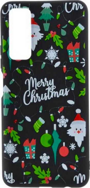 Husa Christmas Trend pentru Apple iPhone 12 Pro Meery Black Huse Telefoane