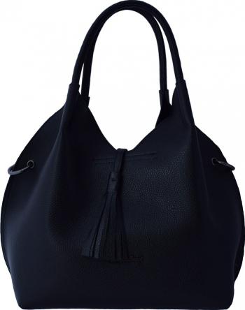 Geanta dama din piele naturala marca Tony Bellucci 0262-281-01-P-64 negru Negru Genti de dama