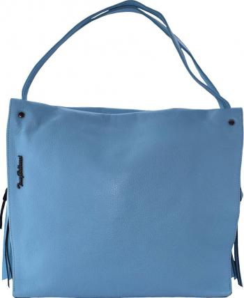 Geanta dama din piele naturala marca Tony Bellucci 0281-210-41-P-64 blue Blue Genti de dama