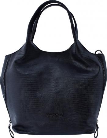 Geanta dama din piele naturala marca Tony Bellucci 0377-01-64 negru Negru Genti de dama