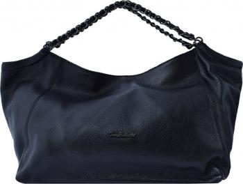 Geanta dama din piele naturala marca Tony Bellucci 0378-01-64 negru Negru Genti de dama