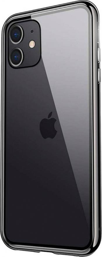 Husa Apple iPhone 12 Magneto 360 BLACK Huse Telefoane