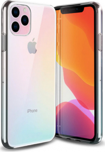 Husa iSilicon Htphone Slim Apple iPhone 11 Pro Max  XI Pro Max Clear Huse Telefoane