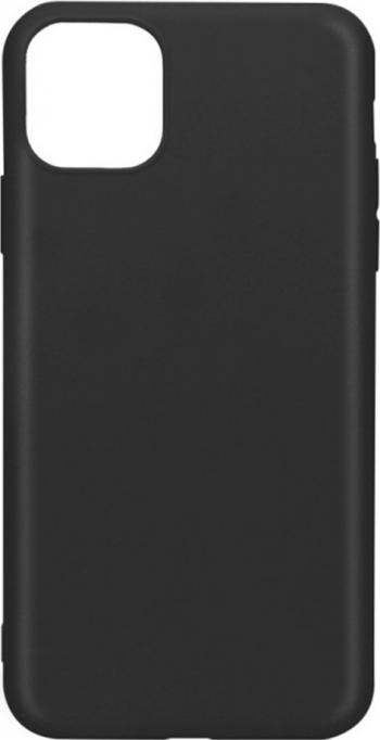 Husa Matte Soft Silicon pentru iPhone 11 Pro Max TPU Negru Huse Telefoane