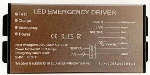 Kit Emergenta Primeled pentru Panou LED Corpuri de iluminat
