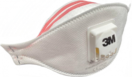 Masca de protectie respiratorie 3M Aura 9332+ FFP3 NR D cu valva Cool Flow certificat CE 2797 Masti chirurgicale si reutilizabile