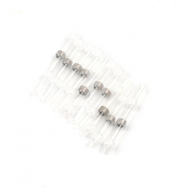 Set 50 bucati Conectori termocontractibili E-LOCKS cu lipire si etansare pentru conductori electrici model ST1W
