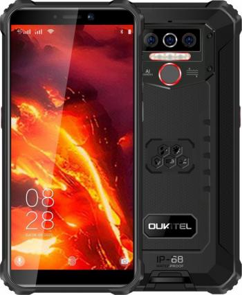 Telefon mobil Oukitel WP5 Pro IPS 5.5inch 4GB RAM 32GB ROM Android 9.0 Dual SIM QuadCore 8000mAh Negru Telefoane Mobile