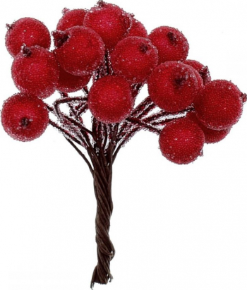 20 Bobite rosii glazurate Cadouri