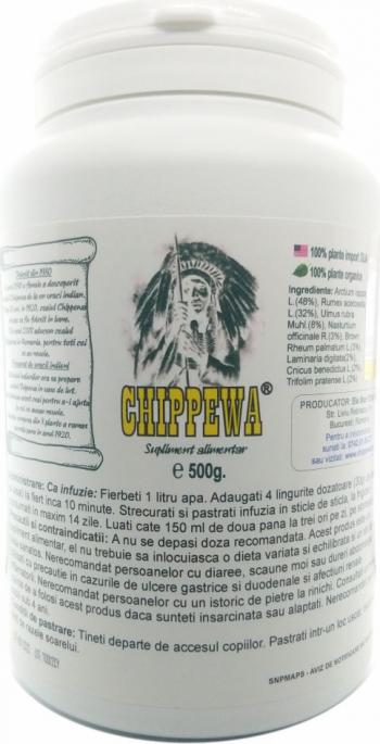 pret preturi Chippewa 174 portii 500g pulbere infuzabila