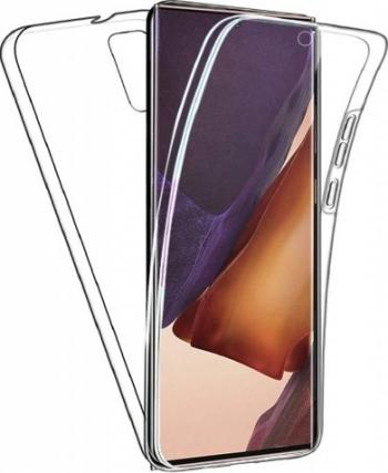 Husa 360 Grade Full Cover Upzz Tpu Si Silicon Compatibila Cu Samsung Galaxy Note 20 full Transparenta