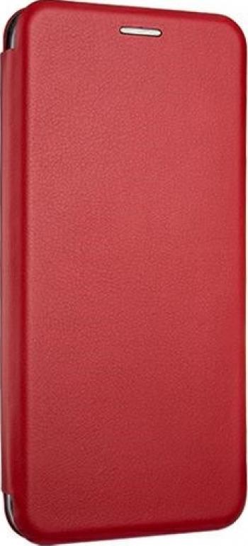 Husa Flip Carte Cu Magnet Lux Upzz Samsung Galaxy M11 rosu