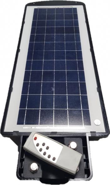 Lampa stradala Solara cu LEDuri 90W si telecomanda - 30025