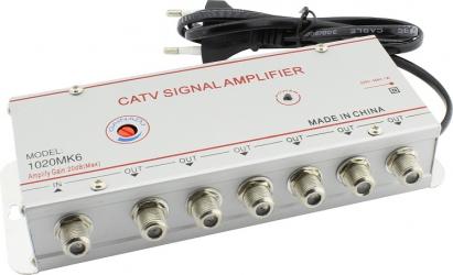 Amplificator antena TV CATV 6 iesiri 1020MK6 110798