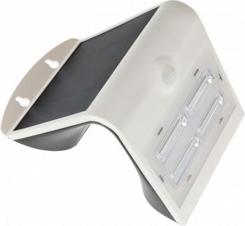 CIL de perete LED panou fotovoltaic detector miscare alb