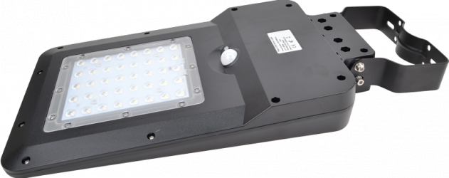 CIL stradal LED panou fotovoltaic si detector de miscare Corpuri de iluminat