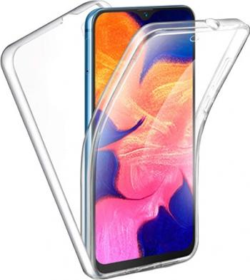 Husa 360 Grade Full Cover Upzz Case Silicon Samsung Galaxy A51 Transparenta