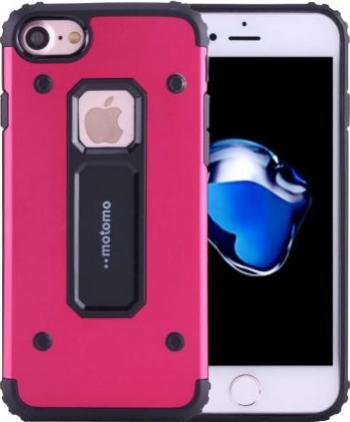 Husa Apple iPhone 7 Motomo Armor Rosu Huse Telefoane