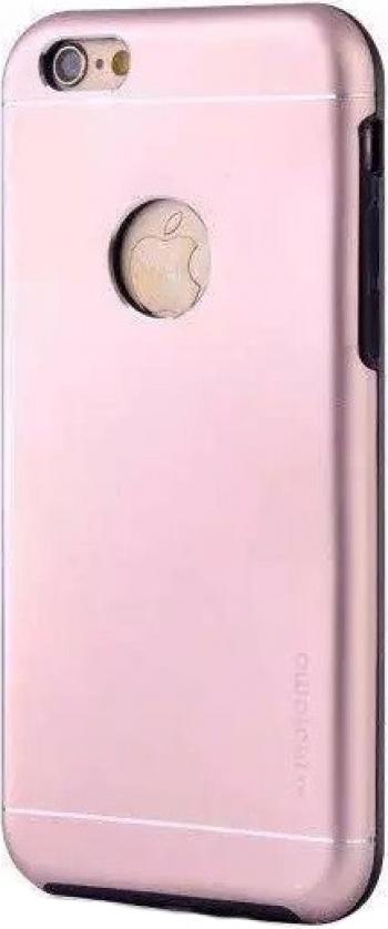 Husa Apple iPhone 7 Plus Motomo V2 Roz-Auriu Huse Telefoane