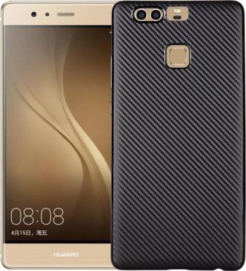 Husa Huawei Mate 9 i-Zore Carbon Fiber Negru Huse Telefoane