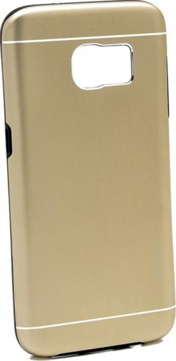 Husa Samsung Galaxy S6 Edge Motomo V2 Auriu