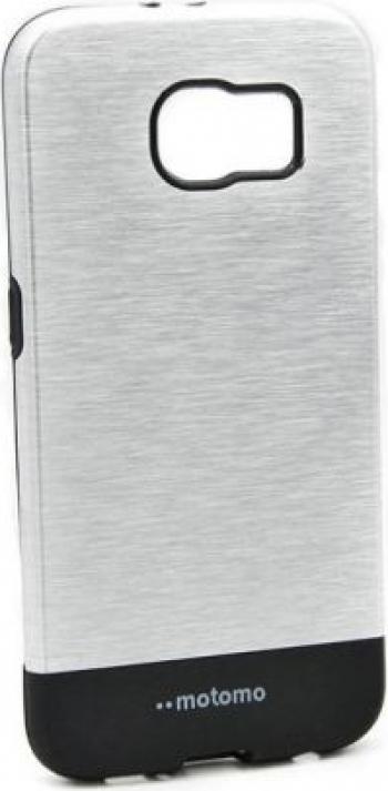 Husa Samsung Galaxy S6 Edge Plus Motomo V4 Argintiu Huse Telefoane