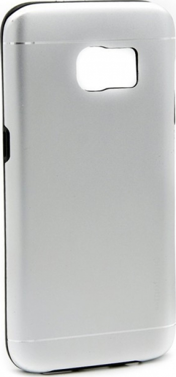 Husa Samsung Galaxy S7 Edge Motomo V2 Argintiu