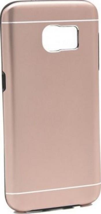 Husa Samsung Galaxy S7 Edge Motomo V2 Roz-Auriu Huse Telefoane