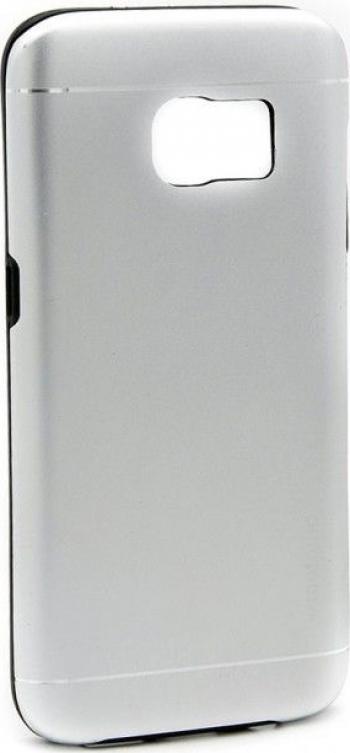 Husa Samsung Galaxy S8 Plus Motomo V2 Argintiu Huse Telefoane