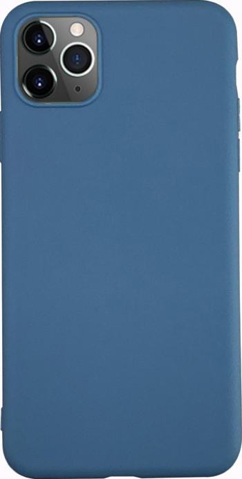 Husa Ultra Slim Upzz Candy Pentru iPhone 11 Pro Max 1mm Grosime Albastru Huse Telefoane