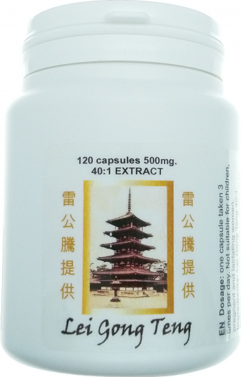 Lei Gong Teng supliment alimentar atitumoral 120 capsule 500 mg extract 40 1 Vitamine si Suplimente nutritive