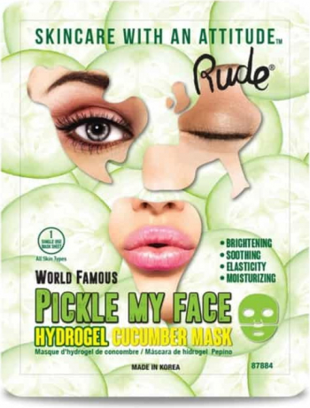 Masca faciala RUDE Pickle My Face Hydrogel Cucumber 30g Make-up ten