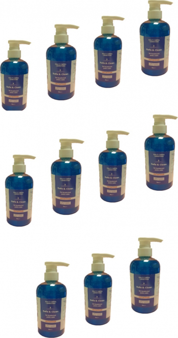 Set 11 bucati Gel dezinfectant pentru maini 500 ml Avizat Biocid Gel antibacterian