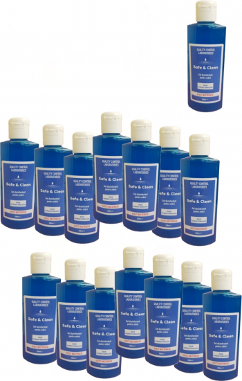 Set 15 bucati Gel dezinfectant pentru maini 200 ml Avizat Biocid Gel antibacterian