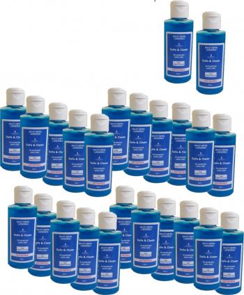 Set 24 bucati Gel dezinfectant pentru maini 100 ml Avizat Biocid Gel antibacterian