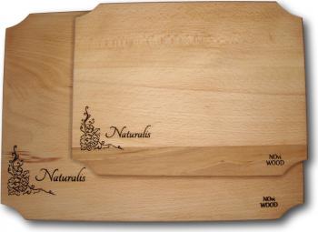 Tocator din lemn de fag set 2 buc - colectia Naturalis Accesorii bucatarie