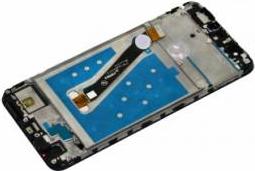 Display cu touchscreen si rama Huawei P Smart Original Auriu
