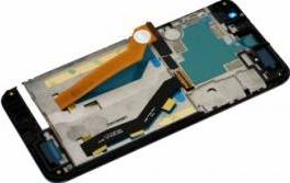 Display cu touchscren si rama HTC One E9 Original Gri Piese si componente telefoane