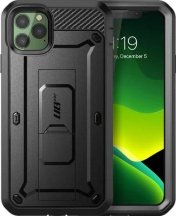 Husa Premium 360 Grade iPhone 12 Pro Max Unicorn Beetle Pro Negru Huse Telefoane